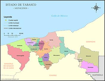 Mapas de Tabasco  DESCARGAR MAPAS